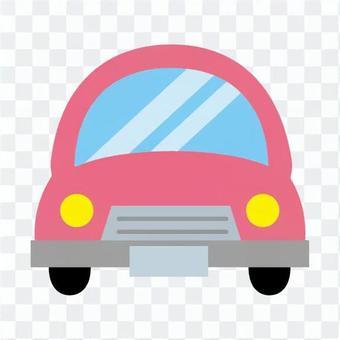 粉红色的车