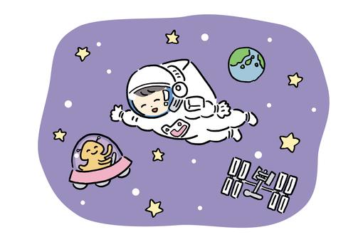 太空行走 3