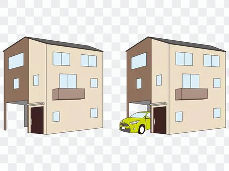 住宅三層獨戶住宅