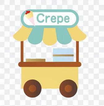 Crepe stand