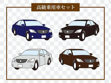 汽車乘用車轎車豪華車