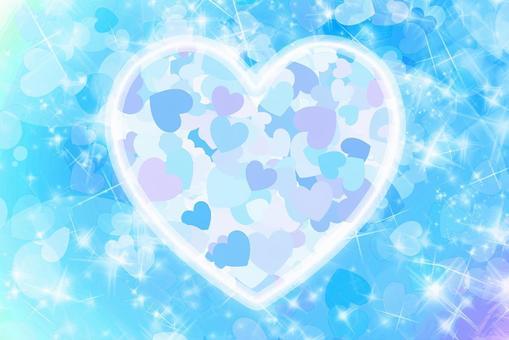 Glitter Heart pendant texture
