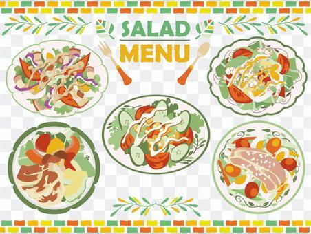 拌飯[09]沙拉實例