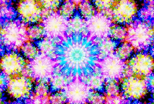 A kaleidoscope of spring flowers