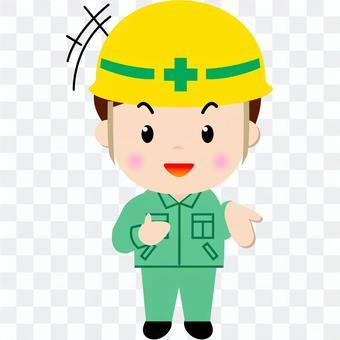 建筑工人(说话)