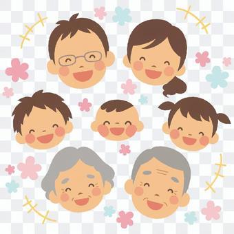 微笑的家庭