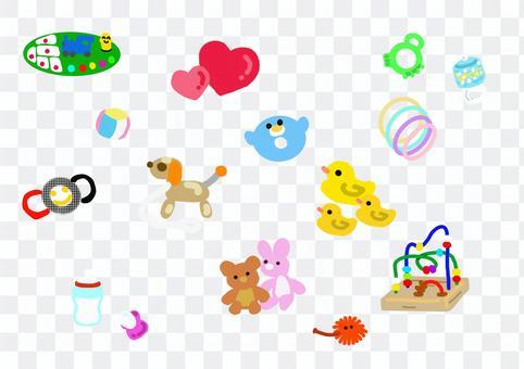 嬰兒玩具及護理用品