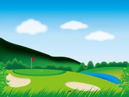 高爾夫球場01