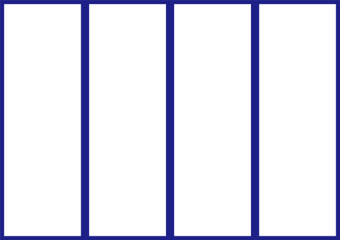 4 幀(條狀,藍色)