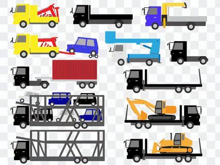 工作车(卡车)材料组1