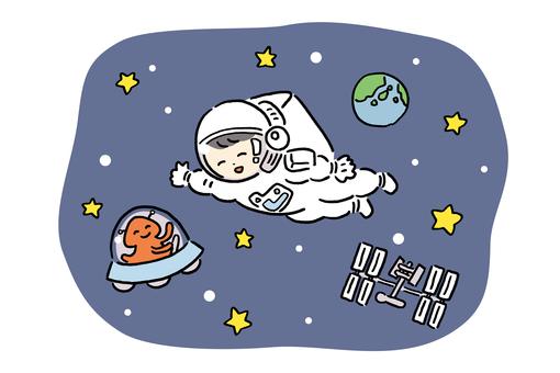 太空行走 3-2