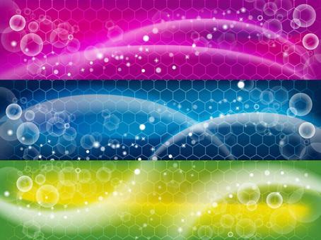 Cyberwave WEB banner horizontal type
