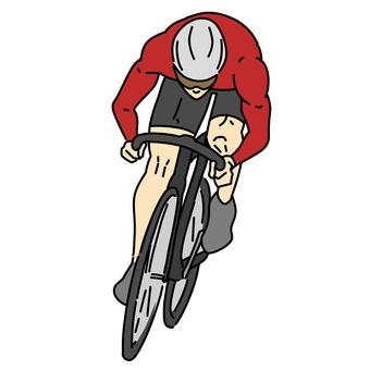 自行車公路賽車手