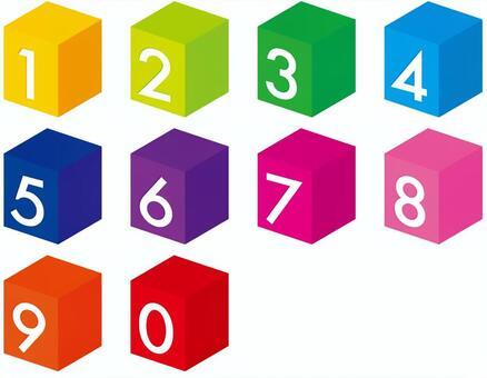 立方體 數字