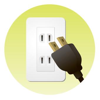 拔出未使用的插座
