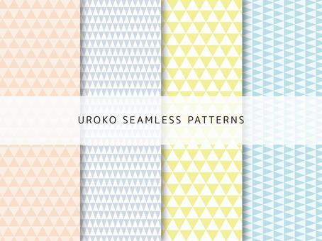 Pattern set of scale pattern