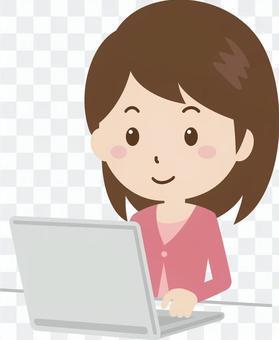 女|大學生|私人服裝| PC