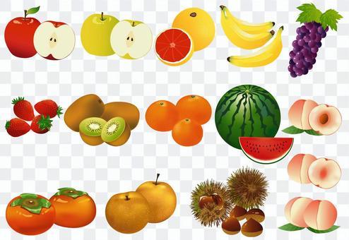 水果材料總結