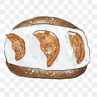 Maritozzo (orange)