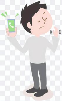 男人不接電話,詐騙對策