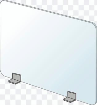 桌面亞克力隔板2(分區)