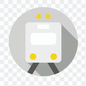 平板圖標 - 火車