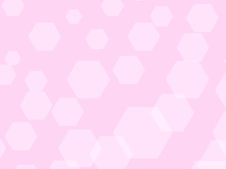 ばらばらヘキサゴン(ピンク)