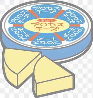 Triangular cheese