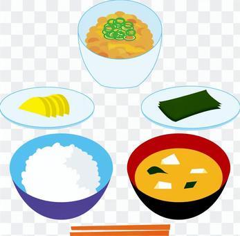 早餐(米飯)