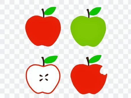 사과 세트