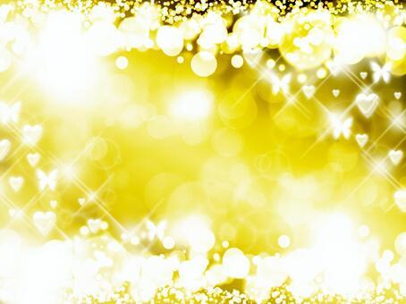 Gorgeous world · golden shiny