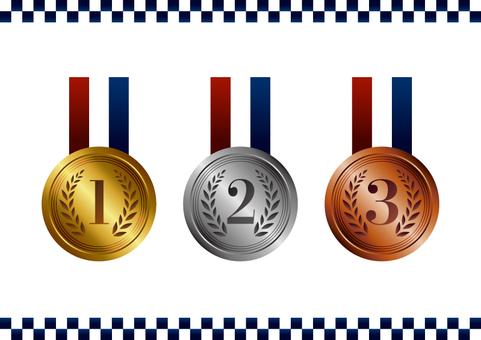 獎牌金銀銅牌