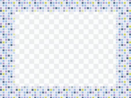拼貼畫框像素畫002