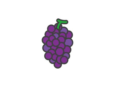葡萄的插圖
