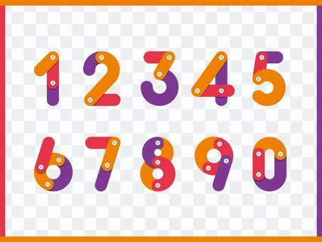 0-9數字字體