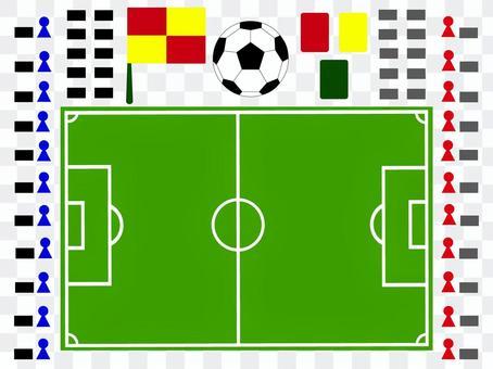 足球場戰略板圖 2