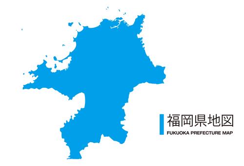 福岡縣_地圖