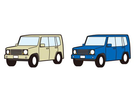 SUV 四驅車 四驅四驅車
