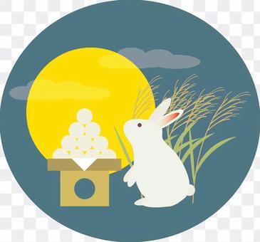 月亮06(月兔兔子铃木)