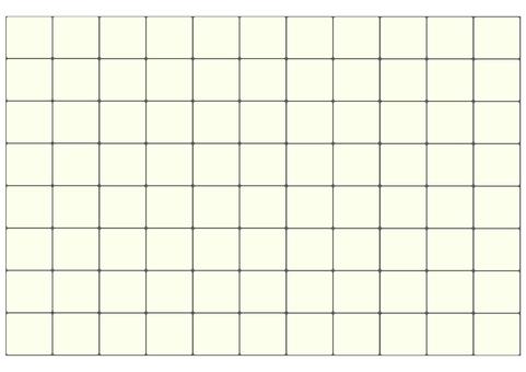 Square tile wallpaper (ivory)