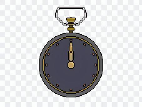 懷錶[像素藝術]