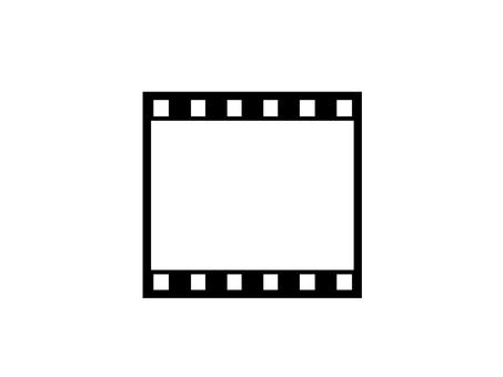 Negative film horizontal 1 frame