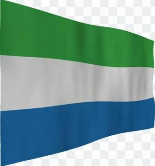 塞拉利昂的旗幟