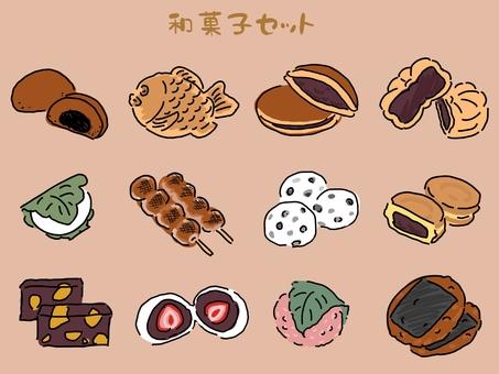 日本糖果圖標集