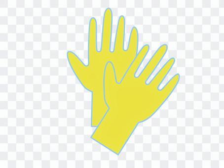 橡膠手套,乙烯基手套