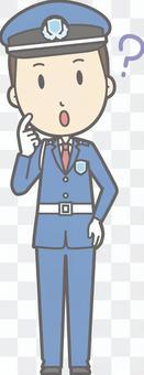 Security guard - Hatena - whole body