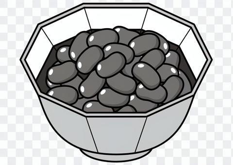 Sweet boiled beans-2c