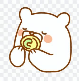 安撫奶嘴白熊