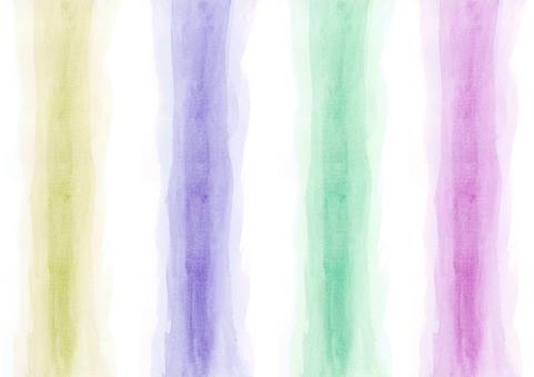 【高貴4色光環】粗刷柱手繪素材