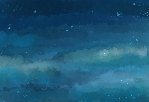 Nuance背景黎明時的星空